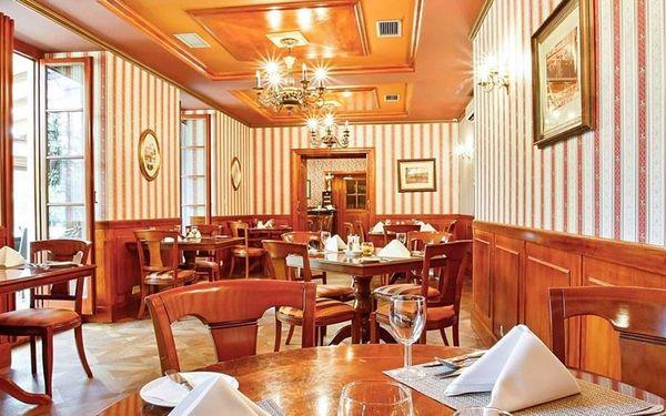 Exkluzivní wellness noc na zámku + 6chodové degustační menu, Praha, 1 noc, 2 osoby, 2 dny3