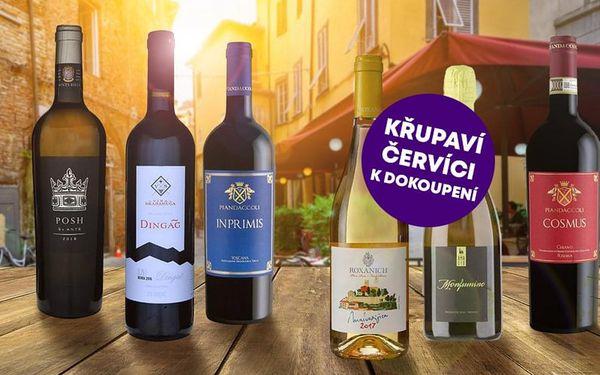 Domácí degustace vín - Itálie vs Chorvatsko + bedna šesti druhů vína, U vás doma, Itálie a Chorvatsko4