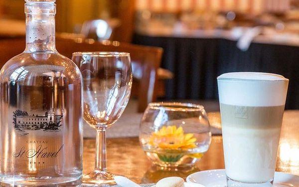 Degustační menu pro dva na zámku Chateau St. Havel — 6 exkluzivních chodů Ondřeje Slaniny + 6 druhů vín, Praha, 2 osoby, 3 hodiny5