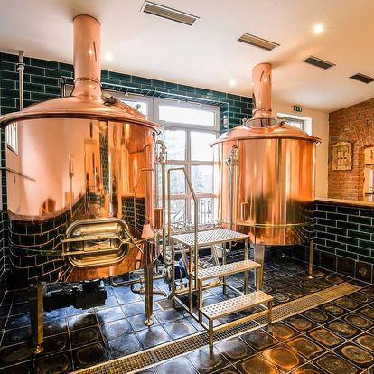 """Domácí degustace piva s pivovarem Zlatá Kráva - balíček """"Pivní klasika"""" + bedna 4 druhů piva"""