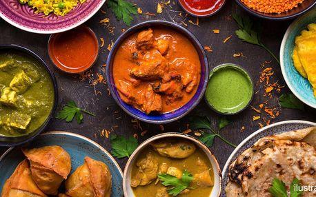 Tříchodové indické menu s sebou: 5 variant