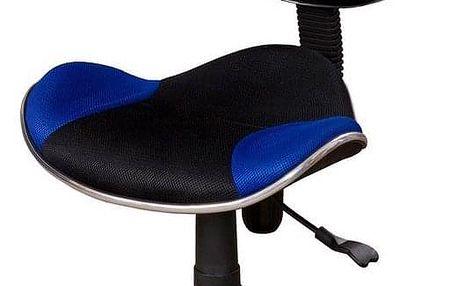 Kancelářská židle JAMES modrá