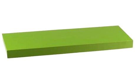 Nástěnná polička zelená P-001 GRN