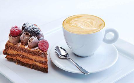 Káva a Raw dortík dle výběru pro 2 osoby
