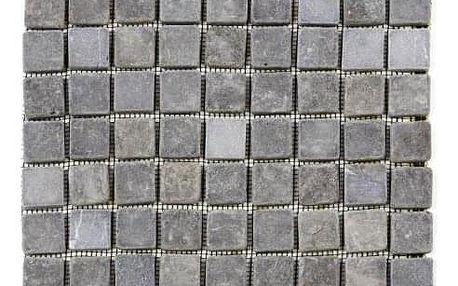 Divero Garth 27854 Mramorová mozaika šedá obklady - 1x síťka - 30 x 30 cm