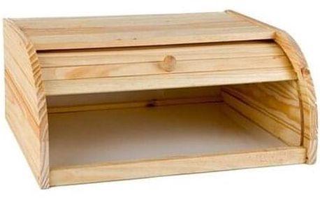 Apetit Dřevěný chlebník 40 x 27,5 x 16,5 cm