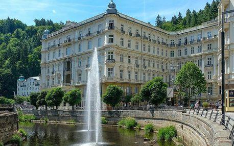 Karlovy Vary, Mariánské lázně, hrad Loket a další krásy kraje