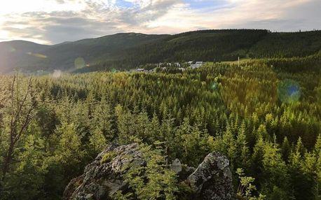 Víkend v Krkonoších: Stezka korunami stromů, Špindl a túrou přes rašeliniště
