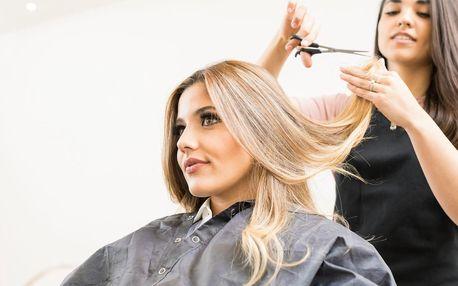 Střih či melír se zábalem pro všechny délky vlasů