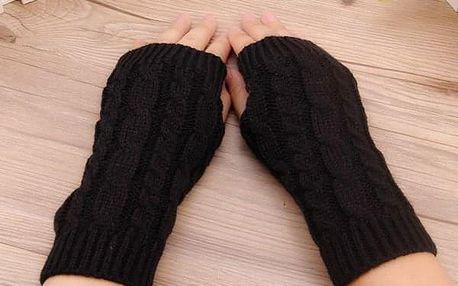 Zimní pletené návleky na ruce - dodání do 2 dnů