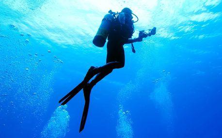 90min. potápění pro začátečníky v lomu Leštinka