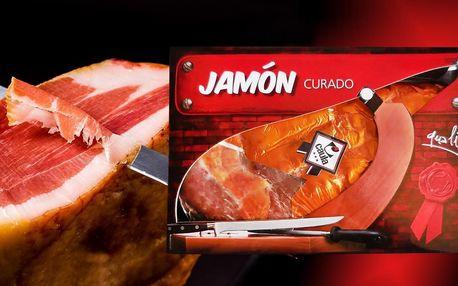 Španělská sušená kýta Jamón Curado: cca 1 kg