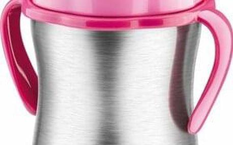 Tescoma BAMBINI dětská termoska s brčkem, růžová