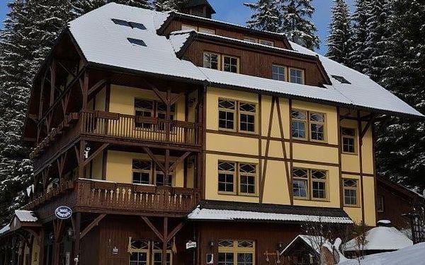 Hotel Modrava, Šumava a Pošumaví, vlastní doprava, snídaně v ceně2