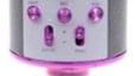 Karaoke mikrofon WS-858 růžový