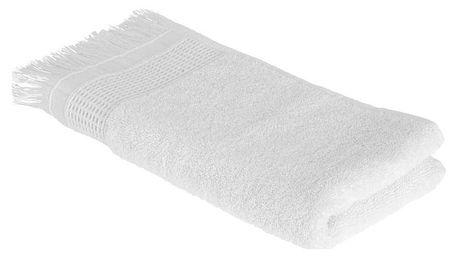 Ručník Pro Hosty Mara, 30/50cm, Bílá