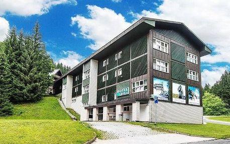 Špindlerův Mlýn v Hotelu Lenka *** s polopenzí, saunou a slevou na atrakce