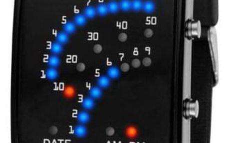 Pánské binární hodinky se silikonovým páskem - 2 barvy - dodání do 2 dnů