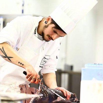 Online kurz vaření se šéfkuchařem - mořské plody