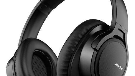 MPOW H7 bezdrátová sluchátka, černá