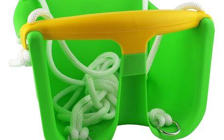 Dětská houpačka MASTER Baby plast - zelená