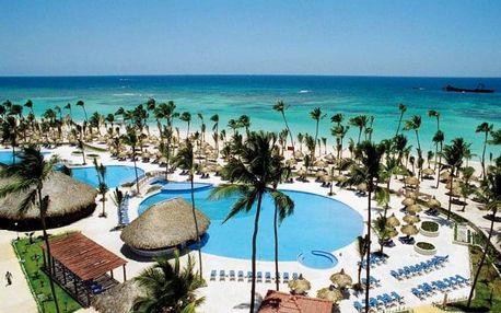 Dominikánská republika letecky na 9 dnů, all inclusive