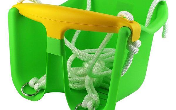 Dětská houpačka CHEVA Baby plast - zelená2