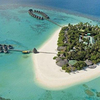 Maledivy letecky na 14-15 dnů, polopenze
