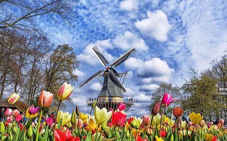 Amsterdam a největší kvetoucí park v Evropě Keukenhof