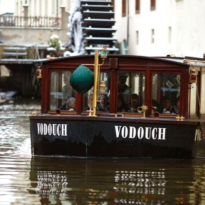 Plavba pražskými Benátkami