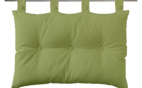 TODAY TODAY Závěsný polštář k posteli 70x45 cm Bambou - zelená