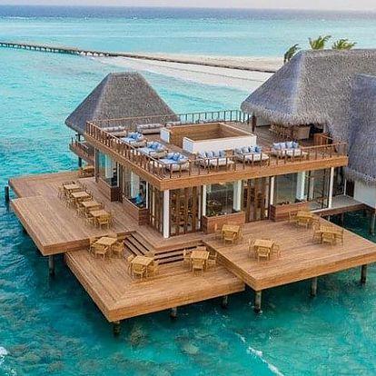 Maledivy letecky na 9-12 dnů, all inclusive