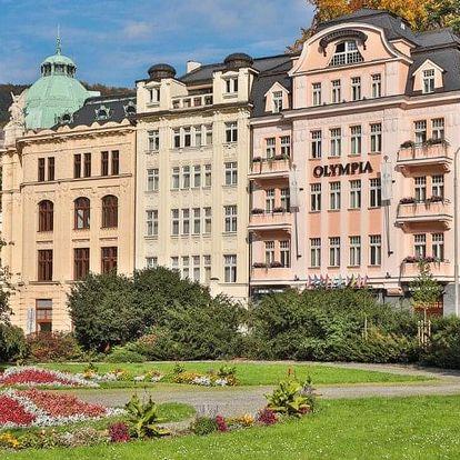 Česká republika, Karlovy Vary, vlastní dopravou na 4 dny snídaně