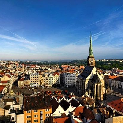 Česká republika, Plzeň, autobusem na 1 den