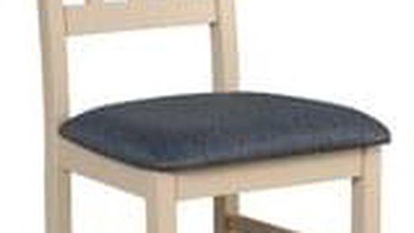 Jídelní židle BOSS 4 Tkanina 25 Dub sonoma