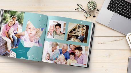Fotokniha A4 nebo čtvercová XL v pevných deskách
