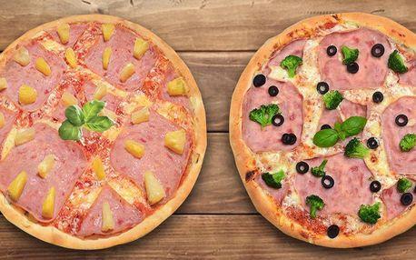 Mražená nebo teplá pizza: osobní odběr i rozvoz