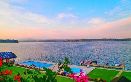 Slovensko: Orava v Penzionu Kamenec s privátním wellness či venkovními bazény, zapůjčením kol a polopenzí