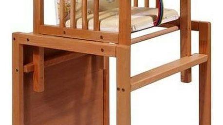 Buková židlička New Baby Victory přírodní