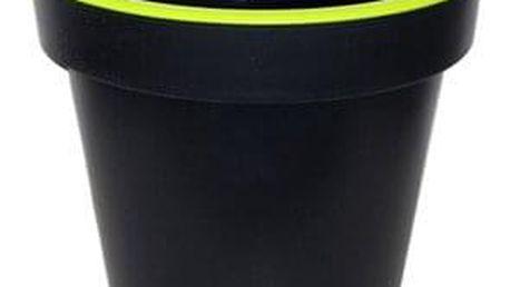 Kvalitní plastový květináč SEGA střední zelený 30x27 cm
