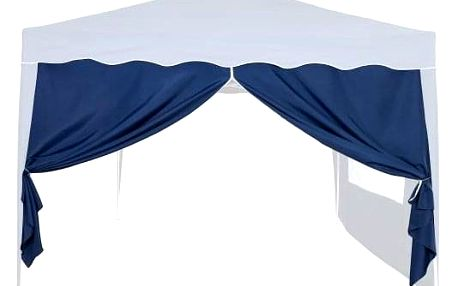 INSTENT 6356 Boční stěna k zahradnímu stanu 3x3 - bez oken - modrá