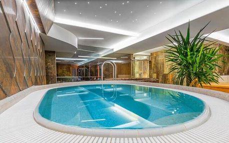Vysoké Tatry v pokoji Exclusive v Grand Hotelu Bellevue **** se vstupem do nového wellness + polopenze