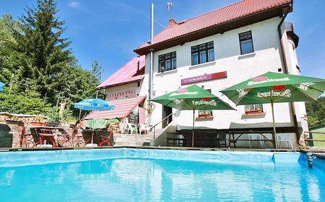 Rodinný penzion v Krkonoších: polopenze i bazén