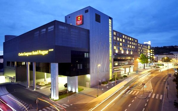 Výlet do Prahy do luxusního hotelu s TOP hodnocením - dlouhá platnost poukazu