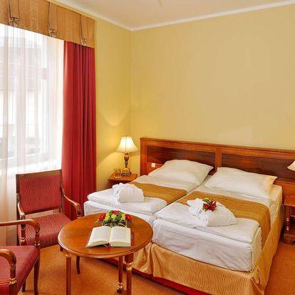 Už jen do června: Hotel Continental**** v Mariánkách s polopenzí, wellness a procedurami