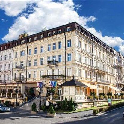 Karlovy Vary na 3-7 dnů, polopenze