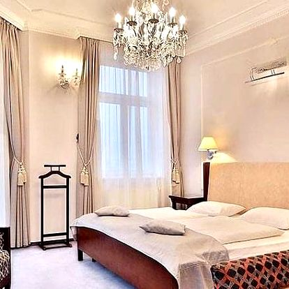 Pobyt v jedinečném 4* hotelu včetně snídaně a ozdravných koupelí