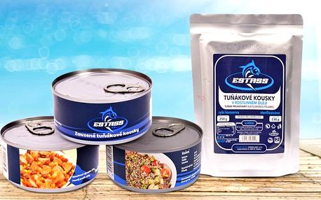 Tuňák Estass: v oleji, uzený, s chilli i quinoou