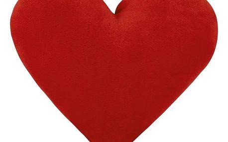 Bellatex Polštářek Srdce červené, 42 x 48 cm