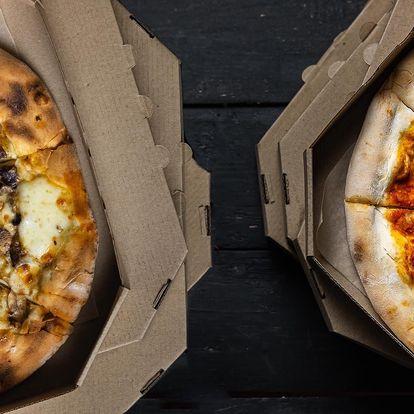 1 nebo 2 italské pizzy s sebou, výběr z 19 druhů